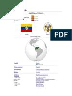 Gran Colombia Tema n 8