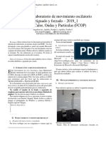 Informe de Laboratorio (1) Masa-resorte (Resumen Del Experimento 1)