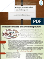 Principiile Morale Ale Kinetoterapeutului