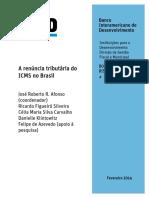 A Renúncia Tributária Do ICMS No Brasil