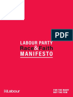 Race and Faith Manifesto 2019
