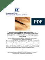 Disposiciones administrativas sobre las funciones y responsabilidades de los Peritos Contadores Inscritos en la SAT.pdf