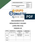 CSMA-PRO-010 Procedimiento de Señalizacion