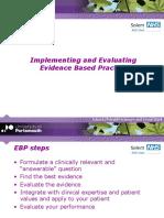 Implementing Evaluating Ebp-14