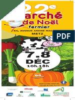 Marché de Noel fermier Metz 2019