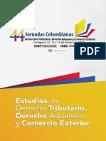 Boletin Informativo 44 Jornadas Colombianas de Derecho Tributario Derecho Aduanero y Comercio Exterior 14112019