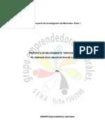 Servicio Al Cliente Investigacion de Mercado