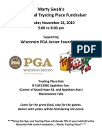 2019 Trysting Fundraiser