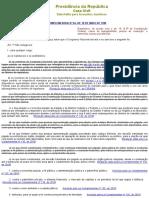 Lcp64 - Inelegibilidades
