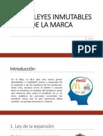 22 Leyes Inmutables de La Marca