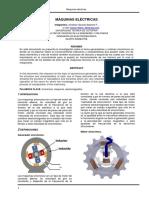 Paper Generador y Motor Sincrono