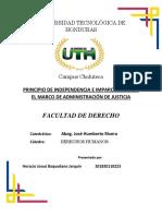 PRINCIPIO DE INDEPENDENCIA E IMPARCIALIDAD EN EL MARCO DE ADMINISTRACIÓN DE JUSTICIA.docx