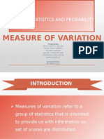 MTH315Measure of Variability Grp.4