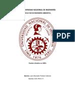 Cambio Climático en ANPs Resumen de Metereologia