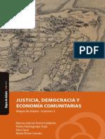 Justicia, democracia y economía comunitarias
