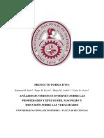 Proyecto formativo Inorganica 1