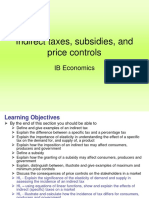 Indirect Taxes Subsidy and Price Control (2)