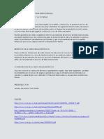 El Reglamento Tecnico Para Redes Internas