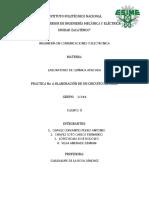 Practica 6 Elaboracion de Un Circuito Impreso