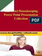 150 Hotel Housekeeping Powerpoint Presentation