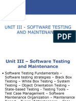 Unit 3 - Software Testing and Maintenance.ppt