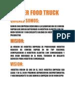 Empresa Tiger Food Truck Quinto