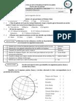 Examen de Goegrafia de Mexico II Bimestre 2008