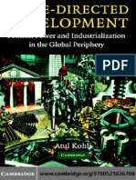Atul Kohli - State-Directed Development_ Political Power and Industrialization in the Global Periphery (2004)