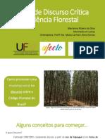 Análise de Discurso Crítica na Ciência Florestal.ppt