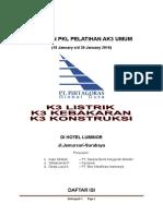 Laporan Tim 1 PKL AK3 UMUM.doc
