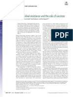 Antimicrobial Resistance and the Role of Vaccines