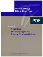 Cbt Cocaine Addiction Manual