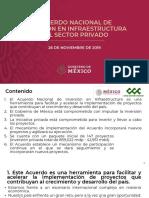 Acuerdo Nacional de Inversión en Infraestructura