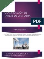 Presentacion Tareas de Obra Civil