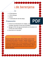 Jugo de Berenjena
