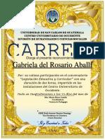Diploma Selección