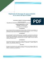 03 Acuerdo gubernativo 12-2011 Reglamento descargas lago Atitlan.pdf