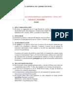 Bases Torneo Escolar de Confraternidad Ajedrezcística Piura 2019