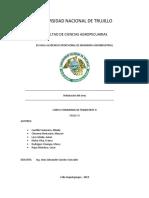 Informe de Hidratacion Del Arroz