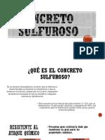 CONCRETO-SULFUROSO