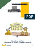 Apuntes de la Banca Central de Guatemala