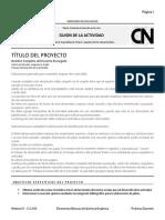 Plantilla Del Guion