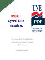 UI. Agentes Físicos e Interacciones.