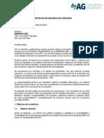 Aceptacion de Encargo de Auditoria-EMPRESA ABC