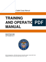 USNSCC 2015 Training and Operations Manual