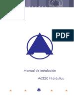 Manual de Instalación A6220 Hidráulico V 8.pdf