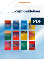 Manuscript Guidelines for English Books (2017)