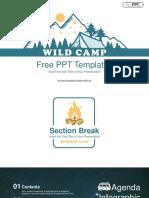 Wild Camp PowerPoint Templates.pptx