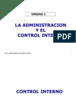 1 Sem.- La Administración y El Control 03-10-2019