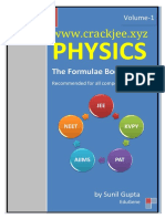 Physics Formula Book (Www.crackjee.xyz)